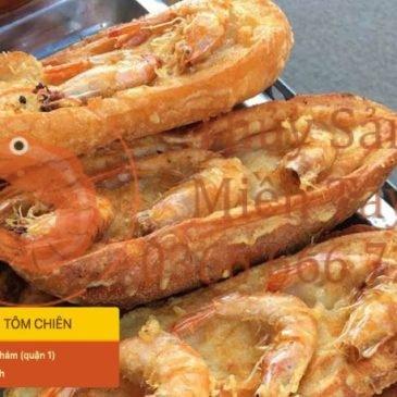 Kìm lòng không nổi với hàng loạt món ngon từ tôm ở Sài Gòn
